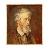 Portrait of Thomas Carlyle  19th Century