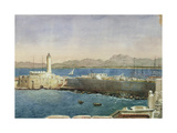The Harbour and Jetty at Algiers  C1830