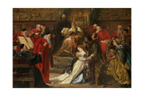 Cordelia in the Court of King Lear  1873