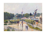 Fourteenth of July at Marly-Le-Roi  1875