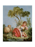 The Little Shepherdess  C1754