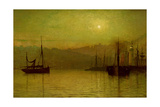 Calm Waters  Scarborough  1880