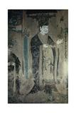 Portrait of Li Shengtian  King of Yutian  Five Dynasties  907-960