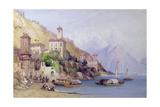 Gravedona  Lake Como  1895