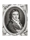Portrait of Camille Desmoulins (1760-94)