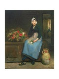 The Young Flower Seller  1882