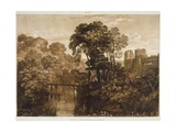 F58I Berry Pomeroy Castle  from the 'Liber Studiorum'  Engraved by the Artist  1816