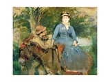 The Donkey Ride  1880