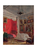 The Apartments of the Count of Mornay  Rue De Verneuil  Paris Study for 'Interior of an Apartment…