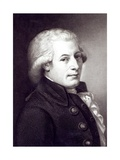 Portrait of Wolfgang Amadeus Mozart (1756-91) Austrian Composer  Engraved by Lazarus Gottlieb…