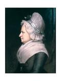 Mrs Martha Washington (1731-1802) 1796