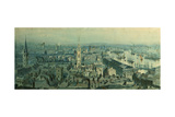 View of London from Monument Looking East  1848