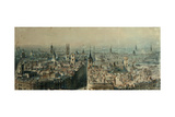 View of London from Monument Looking North  1848