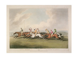 "Horse Racing from ""Orme's Collection of British Field Sport Prints""  1807"