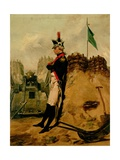 Alexander Hamilton (1757-1804) in the Uniform of the New York Artillery