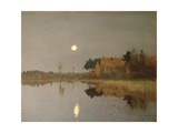 The Twilight Moon  1899