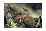 The Death of General Warren at the Battle of Bunker Hill in 1775  Painted C1786