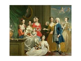 The Family of Eldred Lancelot-Lee  1736