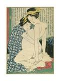 Lesbian Lovers  from 'Manpoku Wago-Jin'  1821