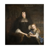 Lady Mary Bagot and Her Granddaughter Mary