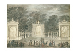 The Illuminations at Buckingham House for King George III's Birthday  June 4th 1783