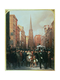 Wall Street  13th October 1857