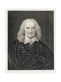 Portrait of Thomas Hobbes (1588-1679) Engraved by James Posselwhite (1798-1884) Pub by William…