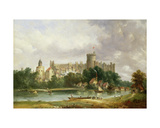 Windsor Castle: from the Thames