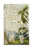 Night (Cont): Plate 20 from Songs of Innocence and of Experience C1802-08