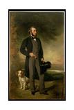 Portrait of John Hick Esq  Jp  C1861