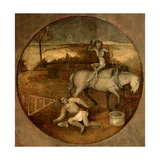 Ploughman Unhorsed by a Demon