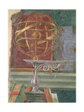 Detail from StAugustine in His Study Showing an Armillary Sphere