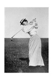 Lady Margaret Scott (1875-1938) Showing Her Graceful But Powerful Swing  Winner of the First…