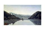 Lago Di Piediluco  Umbria  19th Century