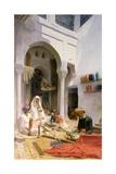 An Arab Weaver  1886