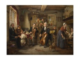 A Philharmonic Rehearsal in a Farmhouse  1860