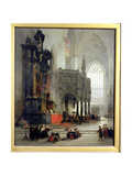 The Shrine of St Gomar at Lierre  Belgium  1849