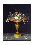 Flowers in a Golden Tazza  1612