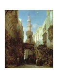 Street in Cairo  1846