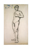 Male Nude  19th Century
