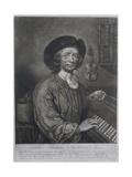 Thomas Britton (1644-1714)  the Small-Coal Man  Engraved by Thomas Johnson