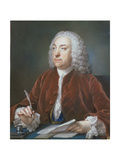 Portrait of Taylor White  Treasurer of the Foundling Hospital  1758
