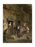 The Milk Seller  1679