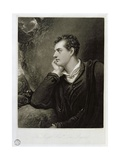 George Gordon  6th Lord Byron (1788-1824)  Engraved by Charles Turner (1773-1857)  1815
