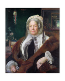Portrait of Jane Lewis  Born 19 January 1793  1864