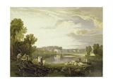Alexander Pope's Villa  Twickenham 1811
