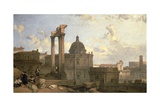 Ruins of the Roman Forum  1859