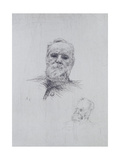 Portrait of Victor Hugo (1802-85)