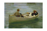 In the Rowing Boat  1898