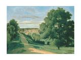 Landscape: Le Petit Charville  Near Ville D'Array  19th Century